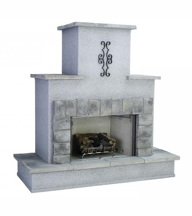 Ventless Traditional Fireplace Bay Area Bbq Islands