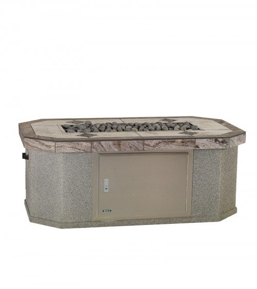Small Rectangular Fire Pit