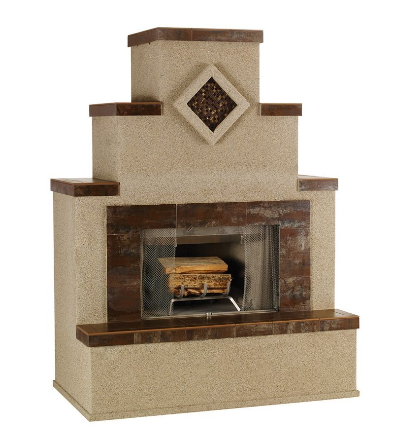 Wood burning fire place bay area bbq islands for Fireplace and bbq
