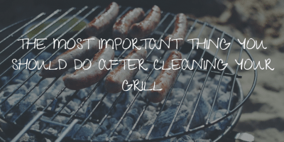 seasoning your grill grates