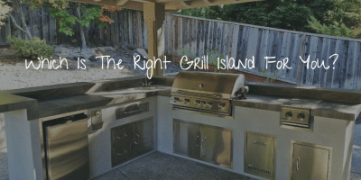which is the right outdoor grill island for you